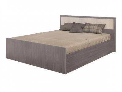 Кровать Фиеста 1600 ясень темный/ясень светлый
