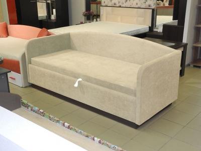 Кровать Максимка ПМ мягкая Венге - ткань Лаунж 1