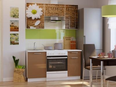 Кухонный гарнитур Риал Эко 1500 ромашка