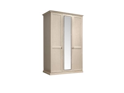 Шкаф 3-х дверный с зеркалом для платья и белья ВНШ1/3 Венеция