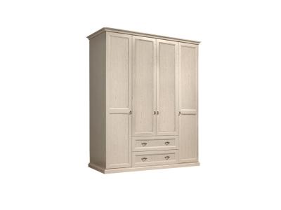 Шкаф 4-х дверный без зеркал для платья и белья с выдвижными ящиками ВНШ2/41 Венеция