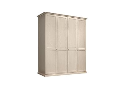 Шкаф 4-х дверный без зеркал для платья и белья ВНШ2/4 Венеция