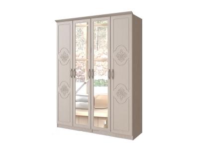 Шкаф 4-х створчатый Лилия МДФ 1600х2080х496