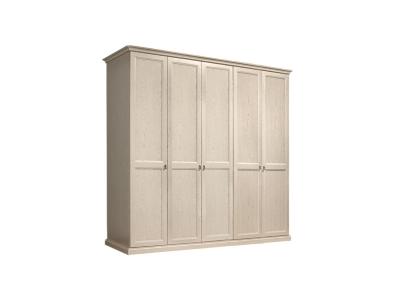 Шкаф 5-ти дверный без зеркал для платья и белья ВНШ2/5 Венеция