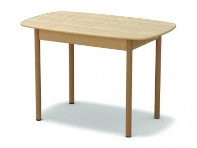 Стол обеденный овальный Дуб млечный - ноги крем