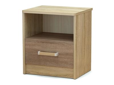 Тумба прикроватная Эксон с ящиком Дуб сонома - Винтаж
