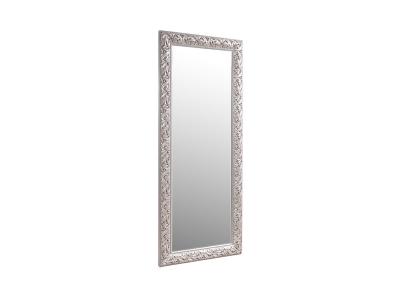 Зеркало большое ТФ/02 Тиффани Штрих серебро