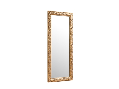 Зеркало большое ТФ/02 Тиффани Штрих золото